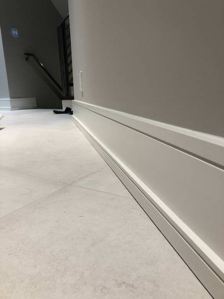 luxury baseboards hallway trim toronto