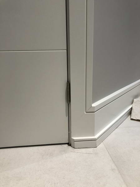 interior door baseboards trim