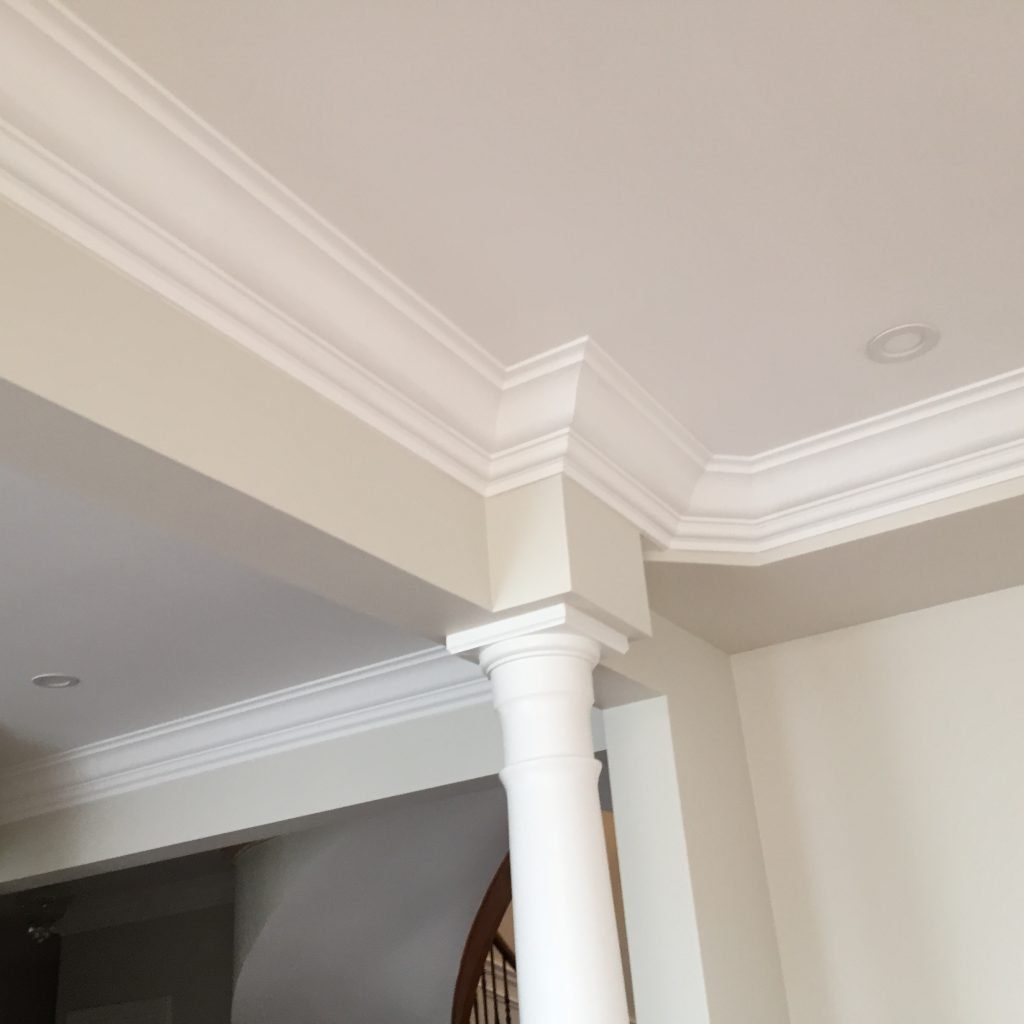 amazing crown moulding trim in custom home by trim team toronto