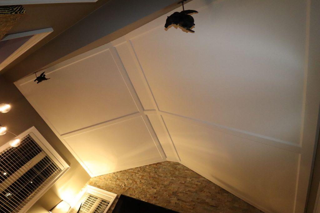 amazing waffle ceiling design