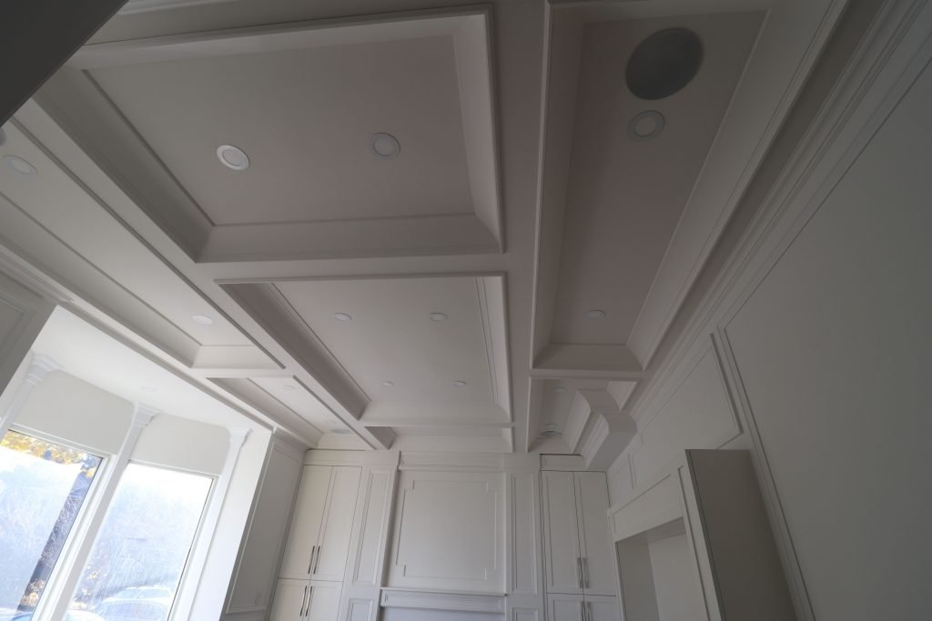 waffle ceiling design