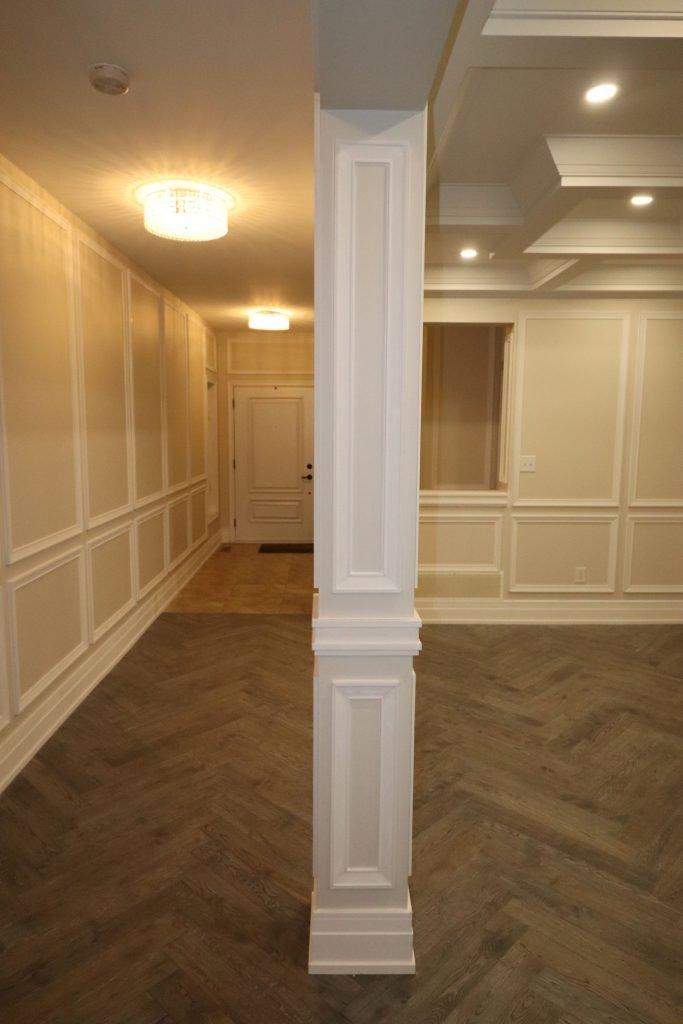 interior columns decor