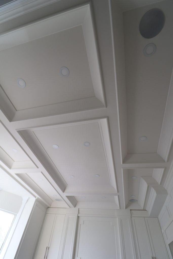 custom waffle ceiling by trim team toronto