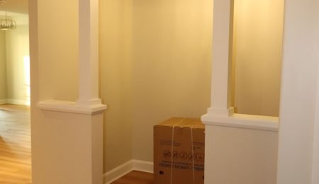 custom Interior Columns by trim team