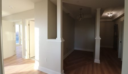 Interior Columns and baseboard trim by trim team toronto