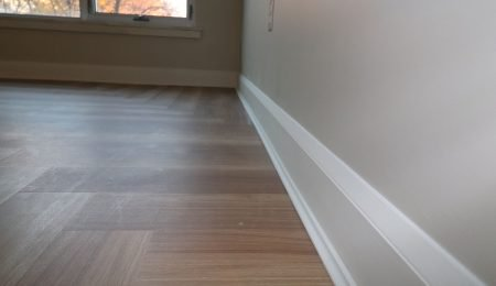 baseboard installation by trim team toronto