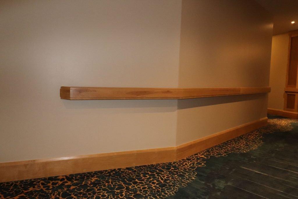 build in wooden railings by trim team toronto