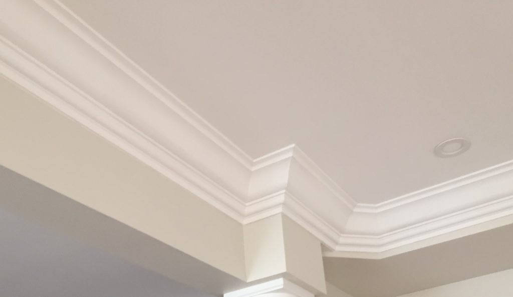 crown moulding installation by trim team