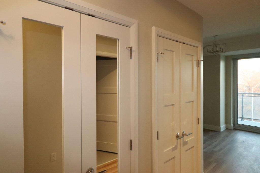 interior door installation by trim team