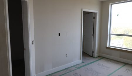 custom doors and baseboard installation