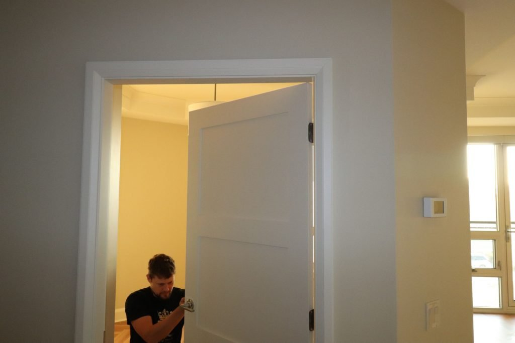 trim team installing interior doors toronto