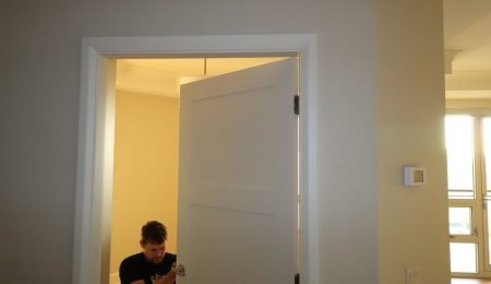 trim team installing interior doors toronto